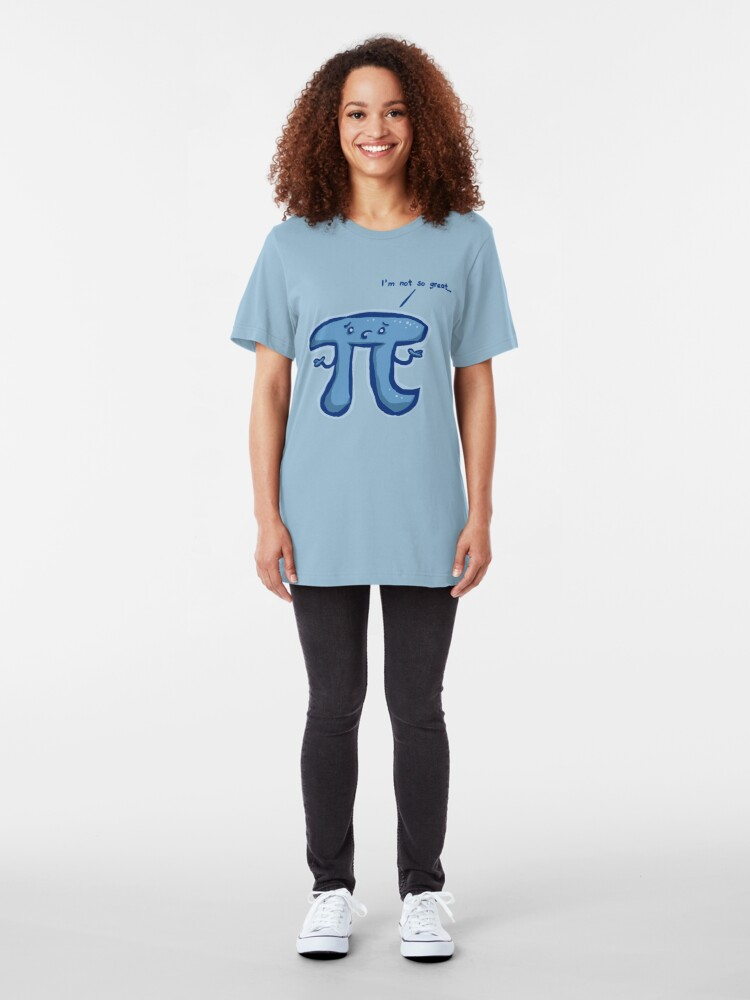 Alternate view of Humble Pi Slim Fit T-Shirt