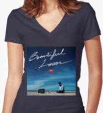 Kyle Beautiful Loser Women's Fitted V-Neck T-Shirt