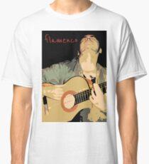 Flamenco guitarra Camiseta clásica
