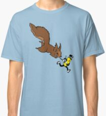 Squirrel Trying To Get A Nut Classic T-Shirt