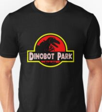 Dinobot Park Slim Fit T-Shirt