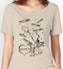 Believe in the Bacon Fairy Women's Relaxed Fit T-Shirt