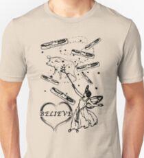 Believe in the Bacon Fairy Unisex T-Shirt