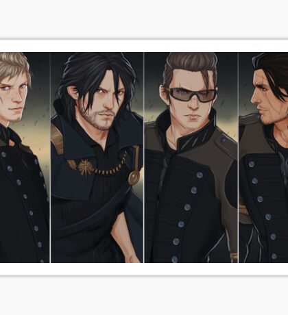 FFXV Brothers Sticker
