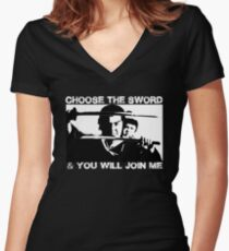 Lone Wolf and Cub - Shogun Assassin Classic Women's Fitted V-Neck T-Shirt