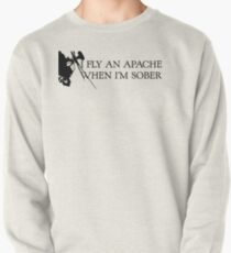 Apache Helicopter Pullover