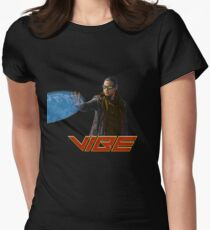 Vibe - CW Flash Version Womens Fitted T-Shirt