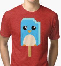 Cute Penguin Popsicle  Tri-blend T-Shirt