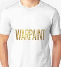 Warpaint Gold Unisex T-Shirt
