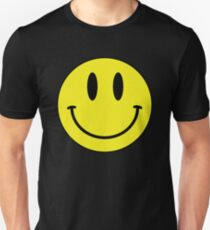 Camiseta unisex Smiley cara Emoji