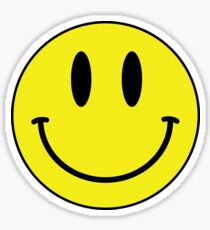 Smiley Face Emoji Sticker