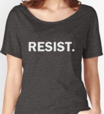 Resist Authoritarianism Trump Resistance Women's Relaxed Fit T-Shirt