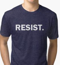 Resist Authoritarianism Trump Resistance Tri-blend T-Shirt