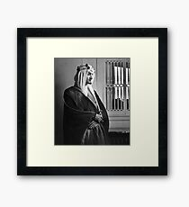 Faisal of Saudi Arabia Framed Print