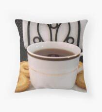 Cup of Tea-Still Life  ^ Throw Pillow