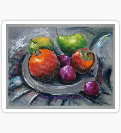 Still Life with Fruit Sticker