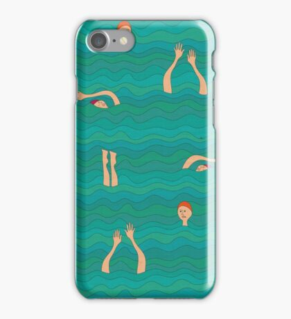 Swimfest iPhone Case/Skin
