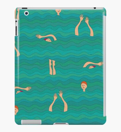 Swimfest iPad Case/Skin