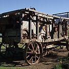 Old threshing machine  by poohsmate