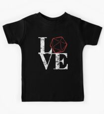 LOVE - D20 Kids Tee