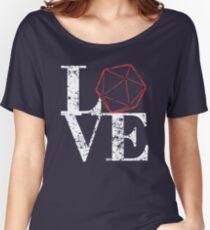 LOVE - D20 Women's Relaxed Fit T-Shirt