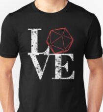 LOVE - D20 Unisex T-Shirt