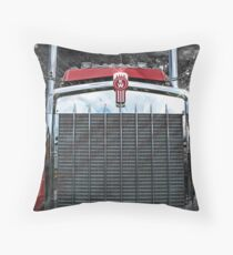Kenworth Grill Throw Pillow