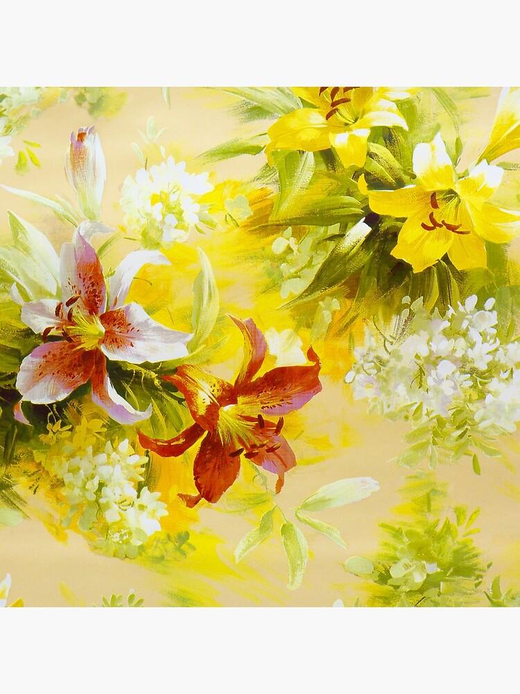 Patrón floral de igorsin
