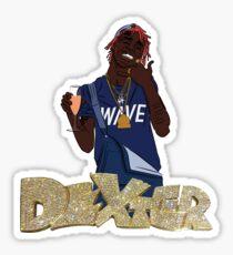 """Famous Dex """"Flex Dexter"""" Sticker"""