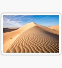 Sand in the dune Sticker