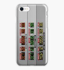 DeLorean Dashboard iPhone Case/Skin