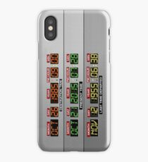 DeLorean Dashboard iPhone Case