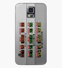 DeLorean Dashboard Case/Skin for Samsung Galaxy