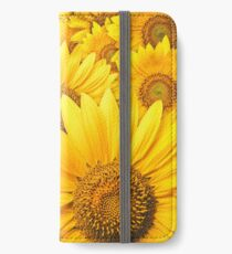 Sunflowers iPhone Wallet