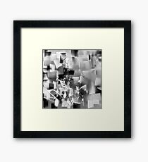 Emotions in Song - B&W Framed Print