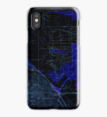 USGS TOPO Map California CA Tupman 296572 1933 31680 geo Inverted iPhone Case