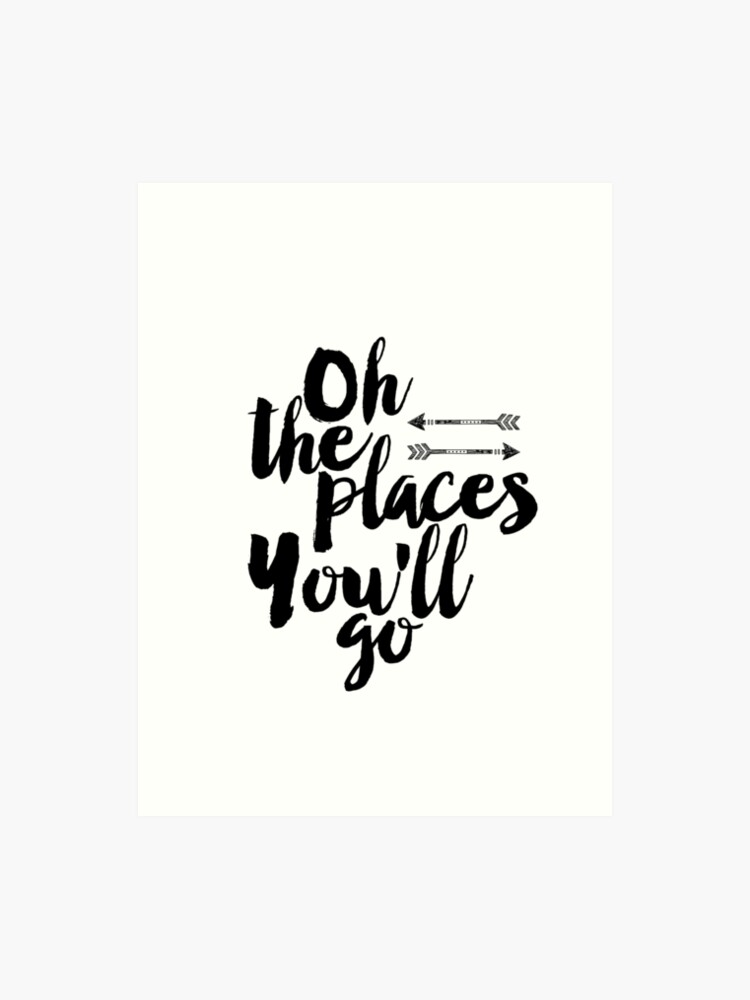 image about Oh the Places You'll Go Printable identify Oh the locations youll shift,Printable estimate, Scandinavian poster,Motivational, Estimate poster, Printable poster, Wall artwork Artwork Print
