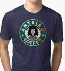 Anteiku coffee - TG Tri-blend T-Shirt