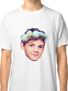 Thomas Brodie-Sangster Flower Crown Classic T-Shirt