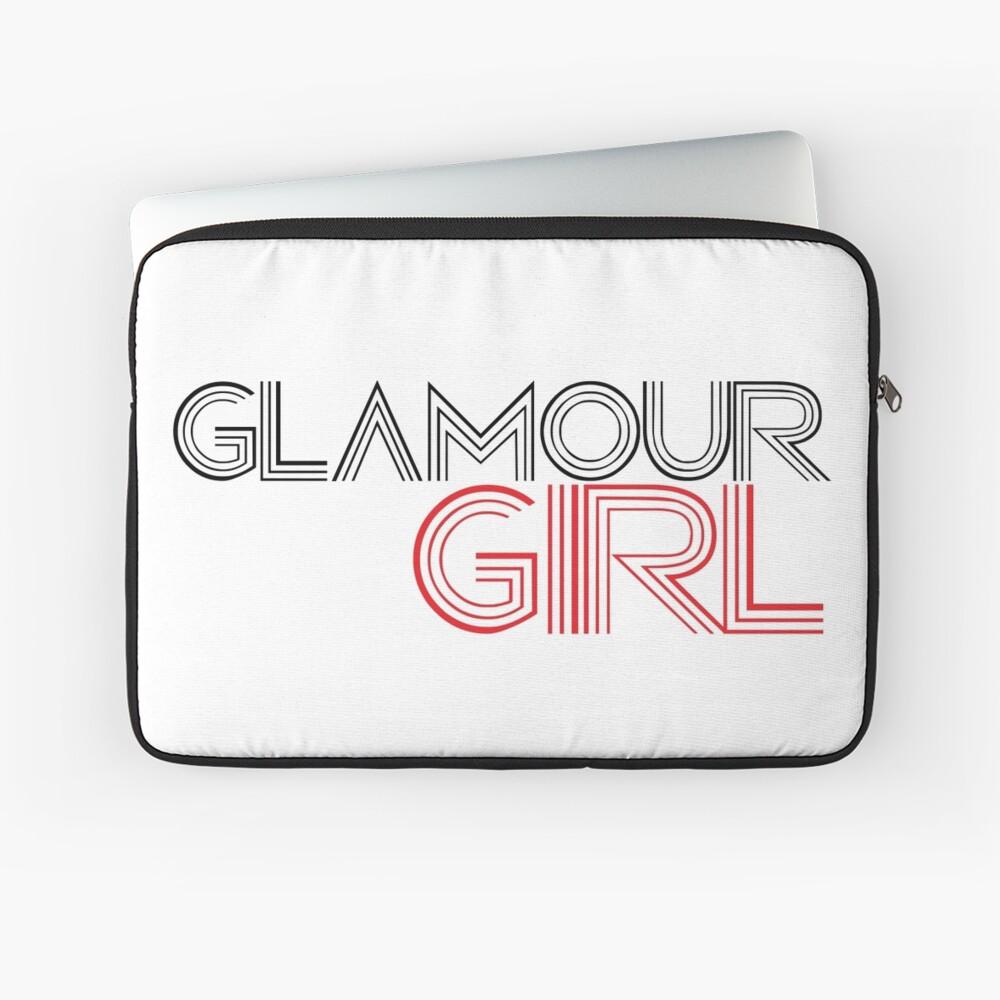 Glamour-Mädchen Laptoptasche