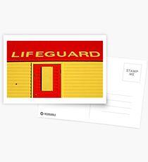 Lifeguard Postcards