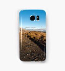 Selfie shadows, late afternoon, Crown Range Samsung Galaxy Case/Skin
