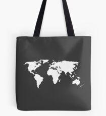 Weltkarte - Welt - Erde Tote Bag