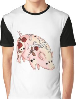 Tattoo Pig T-shirt Graphique