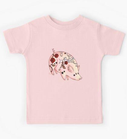Tattoo Pig Kids Clothes