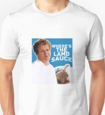 WHERE'S THE LAMB SAUCE Unisex T-Shirt