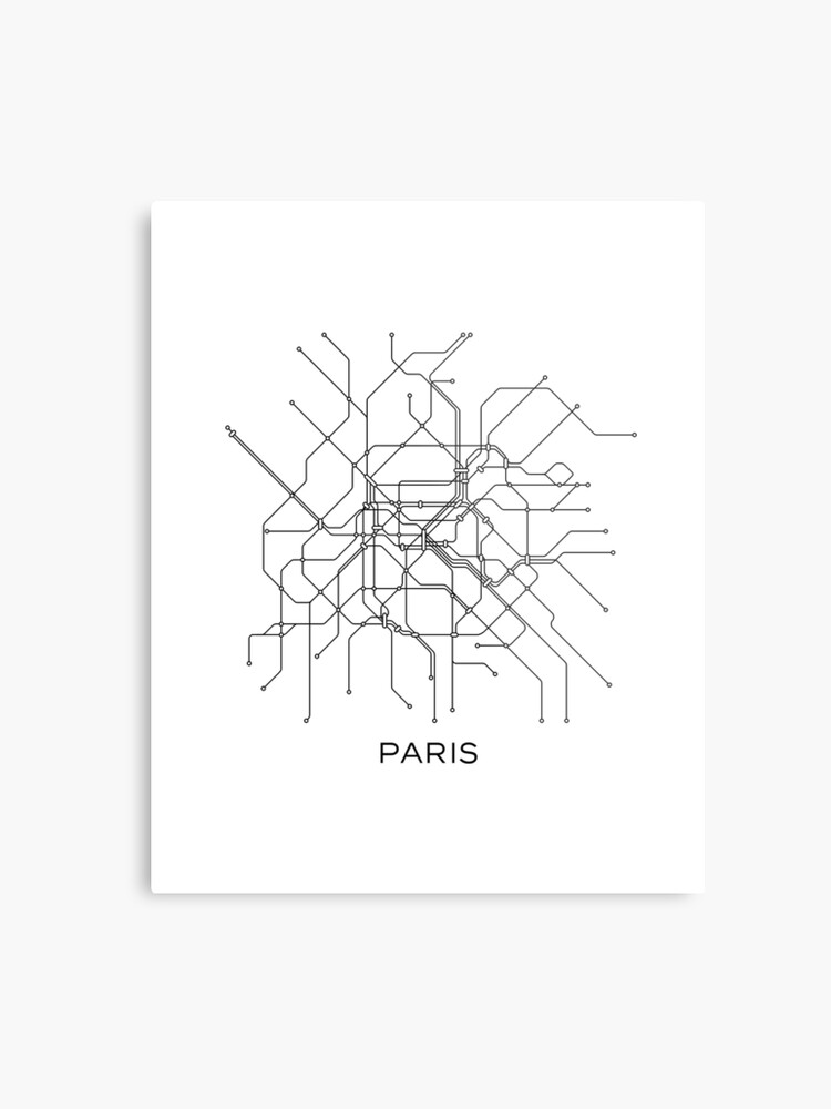 Black And White Subway Map Tapestry.Paris Subway Map Black White Lines Vintage Map Retro Print Paris Metro Map Poster Paris Map Printable Metro Map Subway Paris Subway Map Metal