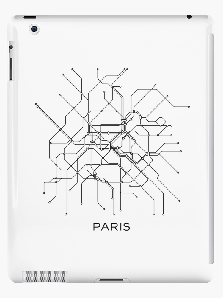 Paris Metro Subway Map.Paris Subway Map Black White Lines Vintage Map Retro Print Paris Metro Map Poster Paris Map Printable Metro Map Subway Paris Subway Map Ipad