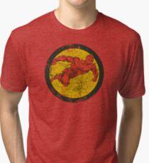 Human Torch Tri-blend T-Shirt
