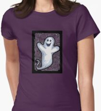 Ghostage Womens Fitted T-Shirt